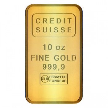 Cheap 10 Oz Credit Suisse Gold Bar 2020