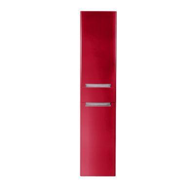 Colonne de salle de bains rouge impérial DECOTEC Belt ...