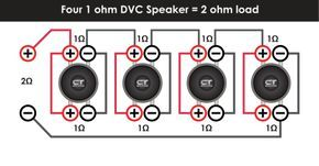 Ct Sounds Subwoofer Wiring Diagrams And Sub Wire Calculator Subwoofer Wiring Subwoofer Car Stereo Systems
