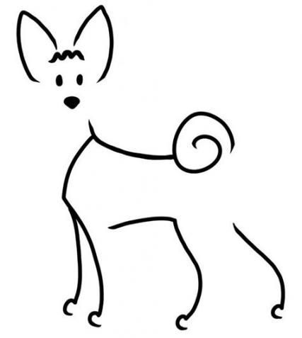 17 Ideas dogs drawing simple doggies