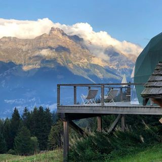 Unique Hotel Whitepod Eco Luxury Hotel Valais Switzerland