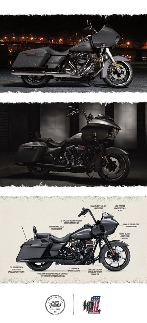 Unmatched comfort, performance, and style to take you as far as you want to go. | 2016 Harley-Davidson Road Glide
