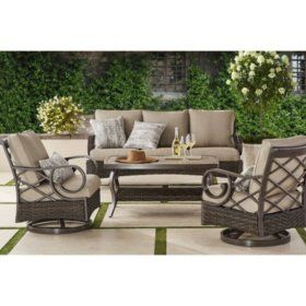 Member S Mark Landon 4 Piece Seating Set Sam S Club Outdoor