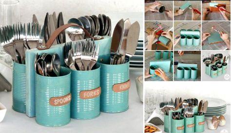 coole bastelideen-küchendeko ideen