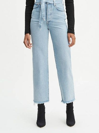 Ribcage Straight Jeans in Life's Work | Denim trends, Wide