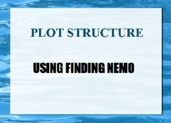 Plot Structure Using Finding Nemo Reading Lessons Finding Nemo Plot Structure