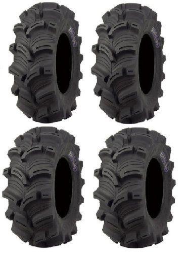 Pair 2 STI Outback AT 25x8-12 ATV Tire Set 25x8x12 25-8-12