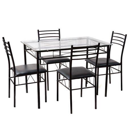 22++ Walmart glass top dining set Various Types