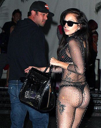 Date night for Lady Gaga and Taylor Kinney doesn't mean they have to compromise their individual style!