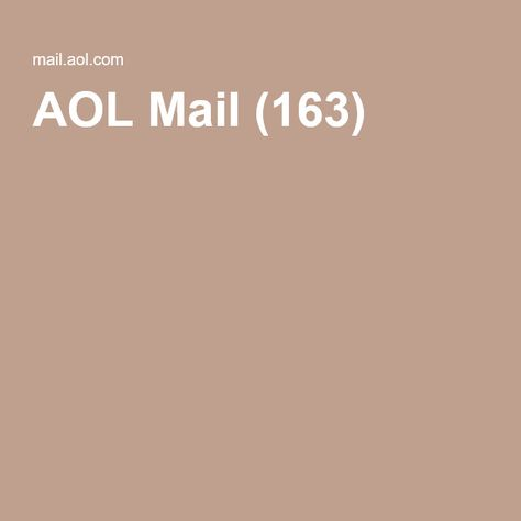 Aol Mail 163 Aol Mail Kinds Of Reading Informative