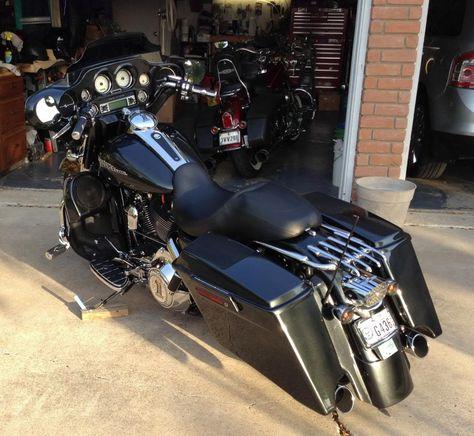 Shocks, Stealth Rack and Adjustable Air Deflector - Harley Davidson Forums