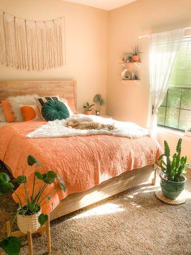 ★★★★★ Peach Hamsa Quilt Set by Justina Blakeney®