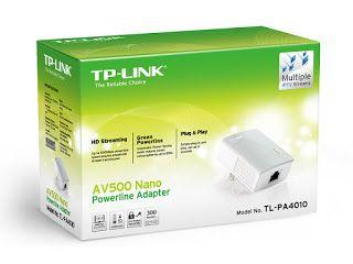 افضل مقوي شبكة لاسلكي بسعر رخيص Tp Link Powerline Adapter