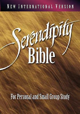 Niv Serendipity Bible For Personal And Small Group Study Paperback 1996 For Sale Online Ebay New Testament Books Group Study Small Groups