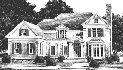 Genial Spitzmiller U0026 Norris Architects Offer Many Of Their Classic Custom House  Plans For Purchase Online.