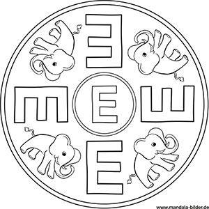Buchstaben Mandalas Abc Ausmalbilder Zum Ausdrucken Ausmalbilder Zum Ausdrucken Ausmalen Abc