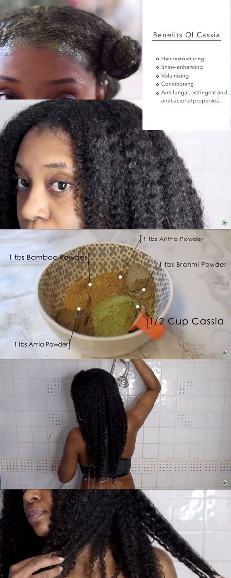 How To Grow Strong and Shiny Hair Using Cassia Obovata Treatment ⋆ African American Hairstyle Videos - AAHV