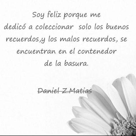 Poesia frasea Daniel Z.Matias
