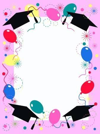 Stock Photo Invitaciones Para Graduacion Graduación De