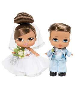 New Bratz Babyz Bride and Groom w// Diamond Ring For You