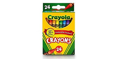 24 Assorted Colors 24 Box Classpack Crayola Crayons Bulk