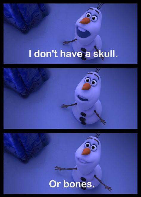 Because...Frozen...