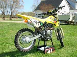 Here Is A Very Nice 16 Racing Pit Bike Mini Supermoto Mini Road Racing Or The Bike Was Built For And Raced By My Teena Pit Bike Supermoto Bikes For Sale