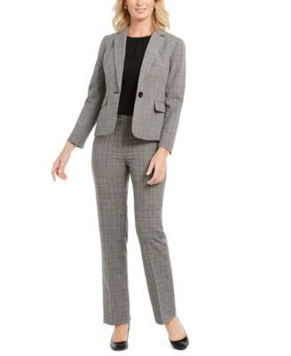 Macys Womens Petite Pant Suits