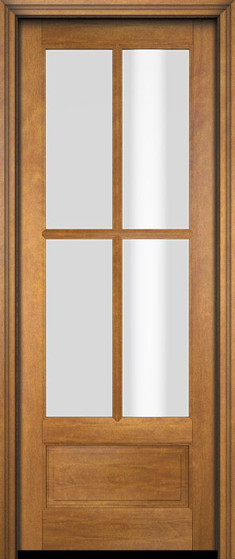 3 4 4 Lite Tdl Mahogany Exterior Or Interior Single Door In 2020 Single Doors Interior Doors