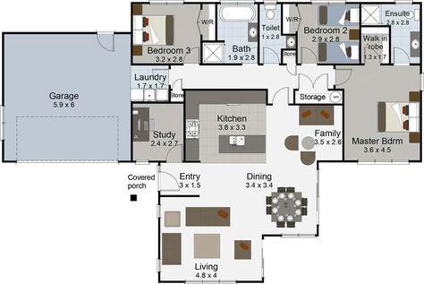 Ballad House Plans Australia Floor Plans Luxury House Plans
