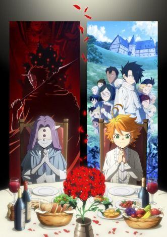 画像 写真 アニメ 約ネバ 第2期キービジュアル公開 キャスト情報も解禁 1枚目 anime upcoming anime anime wallpaper