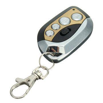 Gv608 433mhz Electric Cloning Universal Gate Garage Door Remote Control Key Fob Garage Door Remote Control Control Key Garage Door Remote