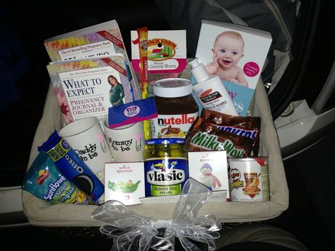 Pregnancy basket for a mommy to be