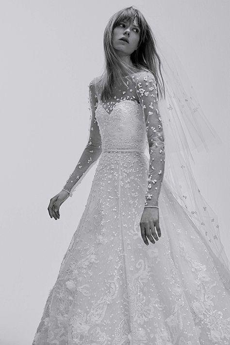 f846bfffc Vestido de novia de Elie Saab · Tendencias de Bodas Magazine ...