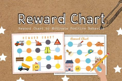 Construction Educational Reward Charts