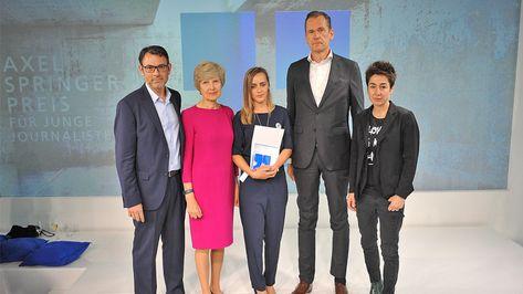 27. Verleihung des Axel-Springer-Preises - Auszeichnung für ermordeten Reporter Ján Kuciak