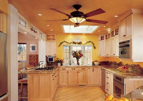 Ceiling Fans In The Kitchen Royal Kitchen Fan With Pendant Light
