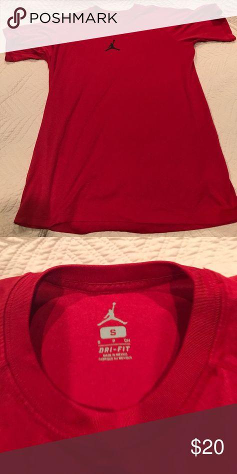 ccc8c26544b66a Men s Jordan dri fit shirt small Jordan size small dri fit basketball shirt  Air Jordan Shirts Tees - Short Sleeve