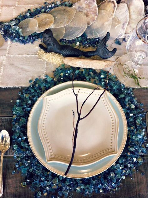 List Of Pinterest Little Mermaids Wedding Decorations Table Settings