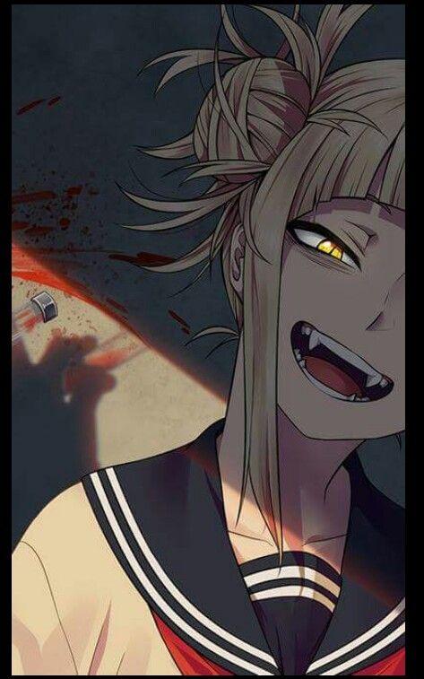 Boku No Hero Academia Himiko Toga Yandere Anime Yandere Girl Dark Anime