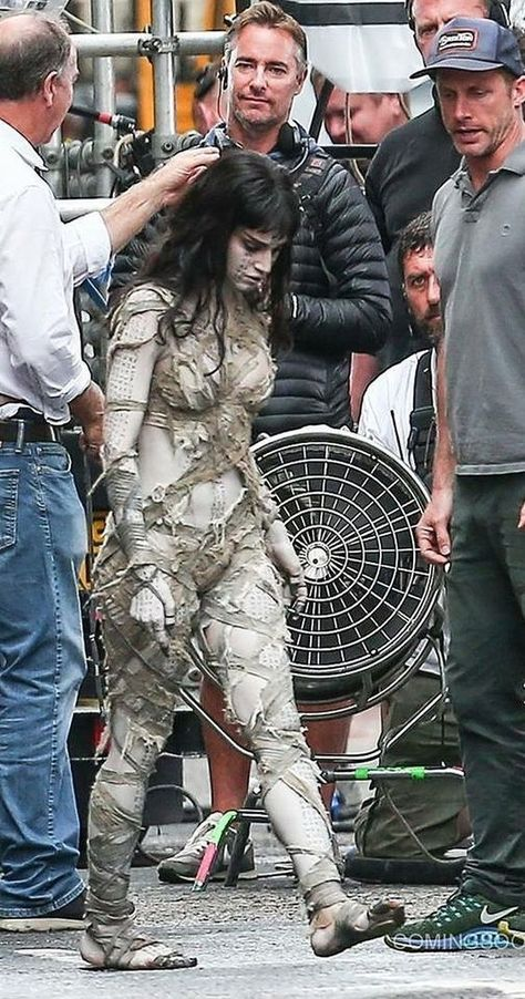 Go behind the scenes of The Mummy 2019