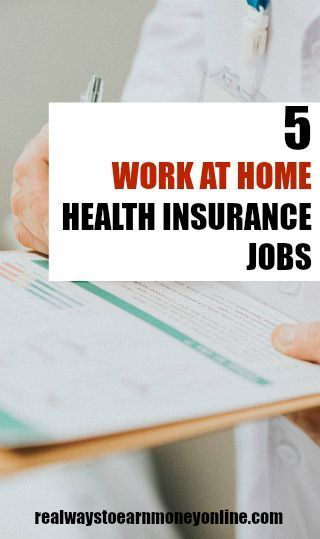 5 Work From Home Health Insurance Jobs Reputable Companies