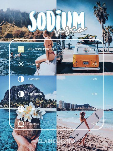 Sodium // Vsco Filters