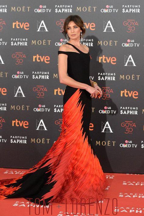 8efacd71d Nieves-Alvarez-Goya-Awards-2016-Red-Carpet-Fashion-Georges-Chakra-Couture-Tom-Lorenzo-Site  (4)