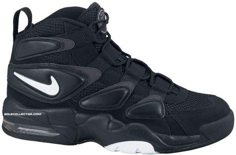 Nike Air Max Uptempo 2 Black White Dark Shadow 472490-010  f9447ad1c