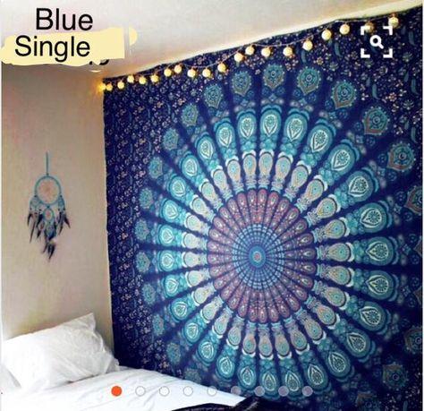 jual mandala indian tapestry - bedcover / decor di lapak