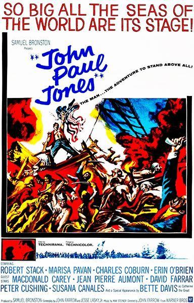 John Paul Jones 1959 Movie Poster John Paul Jones John Paul Robert Stack