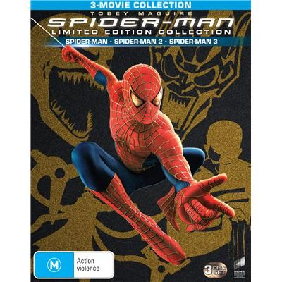 Pin By Casey Wright On Dvds Spider Man Trilogy Spiderman Marvel Movies