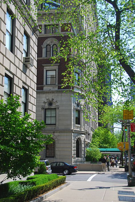 & Avenue& across the street from Central Park in the or New York City, NY Central Park, New York City, New York Street, New York Pictures, I Love Nyc, City Aesthetic, Little Italy, Concrete Jungle, Belle Photo