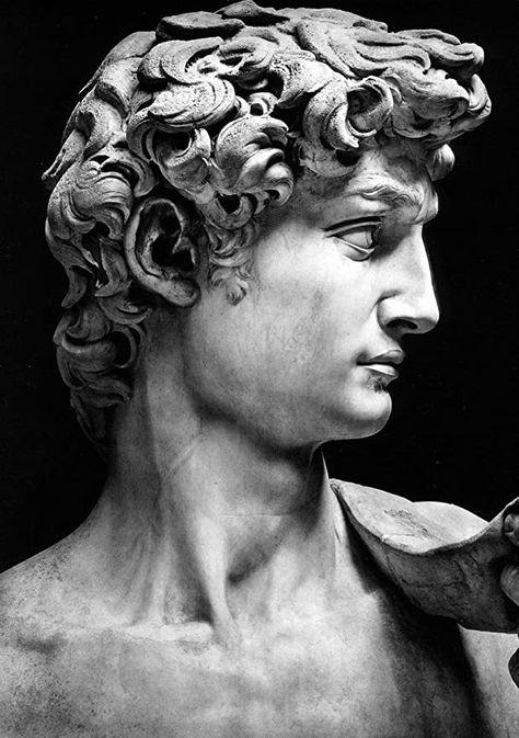 Michelangelo Sculpture, Roman Sculpture, Bronze Sculpture, Sculpture Art, Sculptures, Photo Statue, Sculpture Romaine, Colorado, Greek Statues